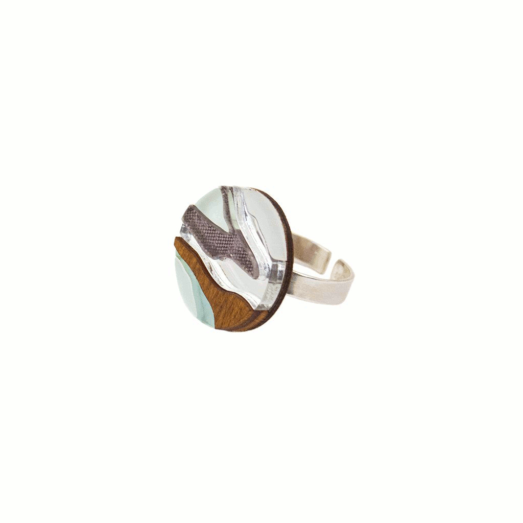 Product image of Marble I ring by Wolf & Moon