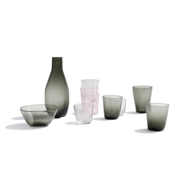 Context image of tela glassware by Wrong for Hay