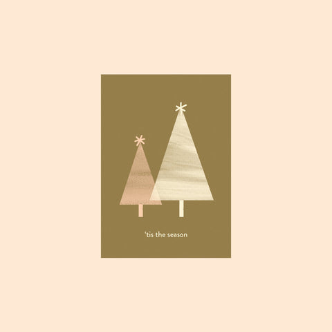 'Tis The Season Card by Hattie Maud