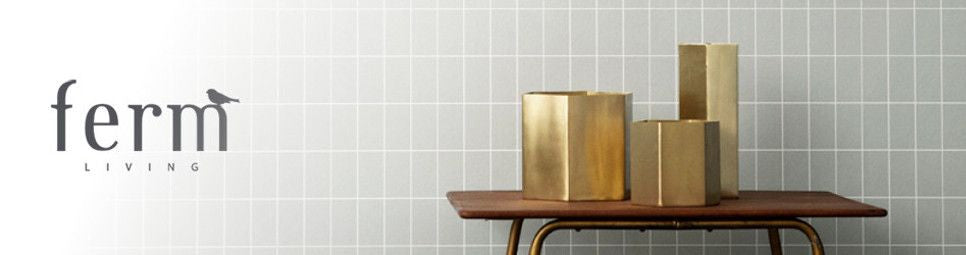 Examples of ferm living products available online and in store