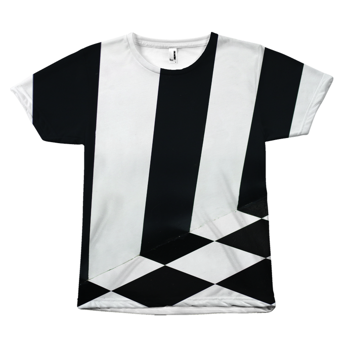 Black and White Stripe Tee