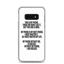 "Load image into Gallery viewer, Samsung Phone Case ""This is my phone"" - t-blurt.com"