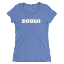 "Load image into Gallery viewer, Recovery T Shirts ""SOBER"""