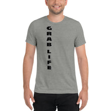 "Load image into Gallery viewer, positive message tshirt ""GRAB LIFE""  - t-blurt.com"