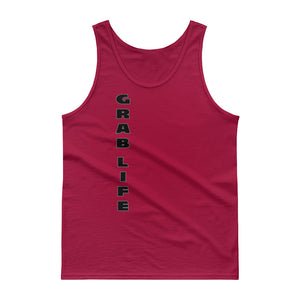 "Men's Tank Top ""GRAB LIFE"" - t-blurt.com"