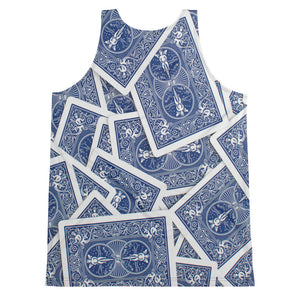 Men's Playing Cards Tank Top