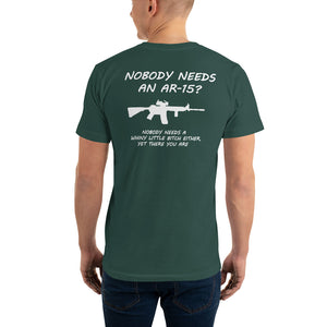 "2nd Amendment Shirts, ""AR-15"" Mens T-Shirt - t-blurt.com"