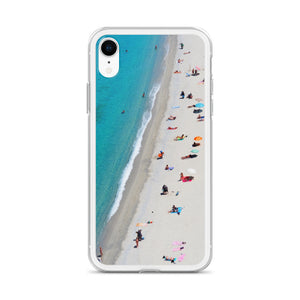 "iPhone Case ""Day at the Beach - t-blurt.com"