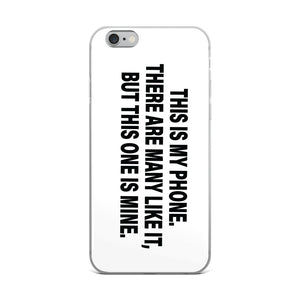 "iPhone Case ""This is my phone"" - t-blurt.com"