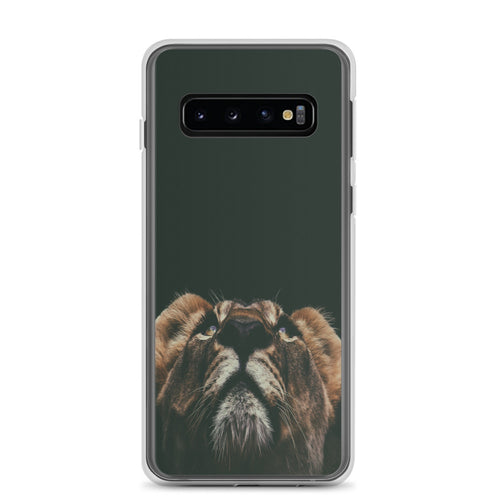 Samsung Phone Case Lion Look Up - t-blurt.com