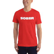"Load image into Gallery viewer, Recovery T shirts, ""Sober Horizontal"" - t-blurt.com"