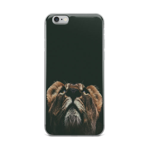iPhone Case Lion Look Up - t-blurt.com