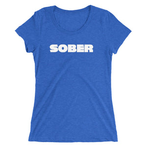 "Recovery T Shirts ""SOBER"""
