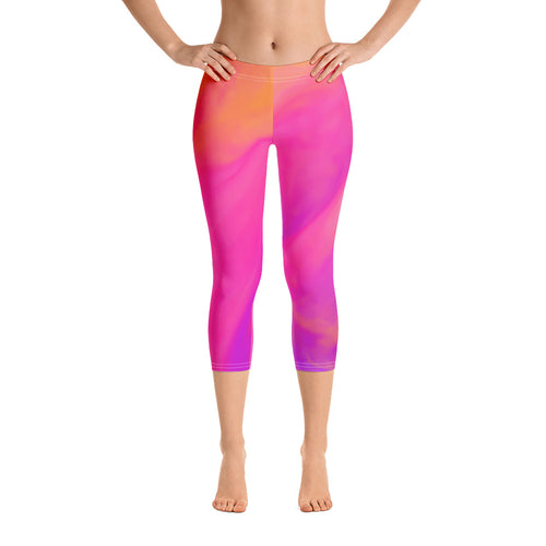 Women's Capri Leggings - t-blurt.com