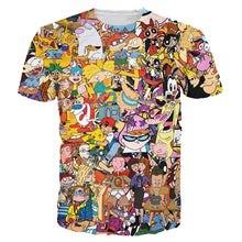 Load image into Gallery viewer, Men's 3D Cartoon T-Shirt