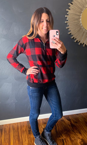 Plaid Zip
