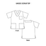 Antimicrobial Scrub Set - Infection Prevention Fabric