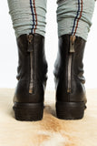 GUIDI 796W black Back Zip Boot