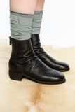 GUIDI Black 796W Back Zip Boot
