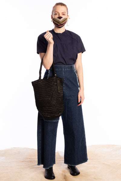 CHRISTIAN PEAU Long Mesh Woven Bag