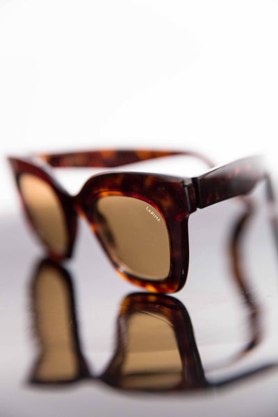 Lapima Lisa acetate sunglasses. Made in Brazil. South American designers. Small atelier. Shop small. Robin Richman curates. Robin Richman boutique Chicago.