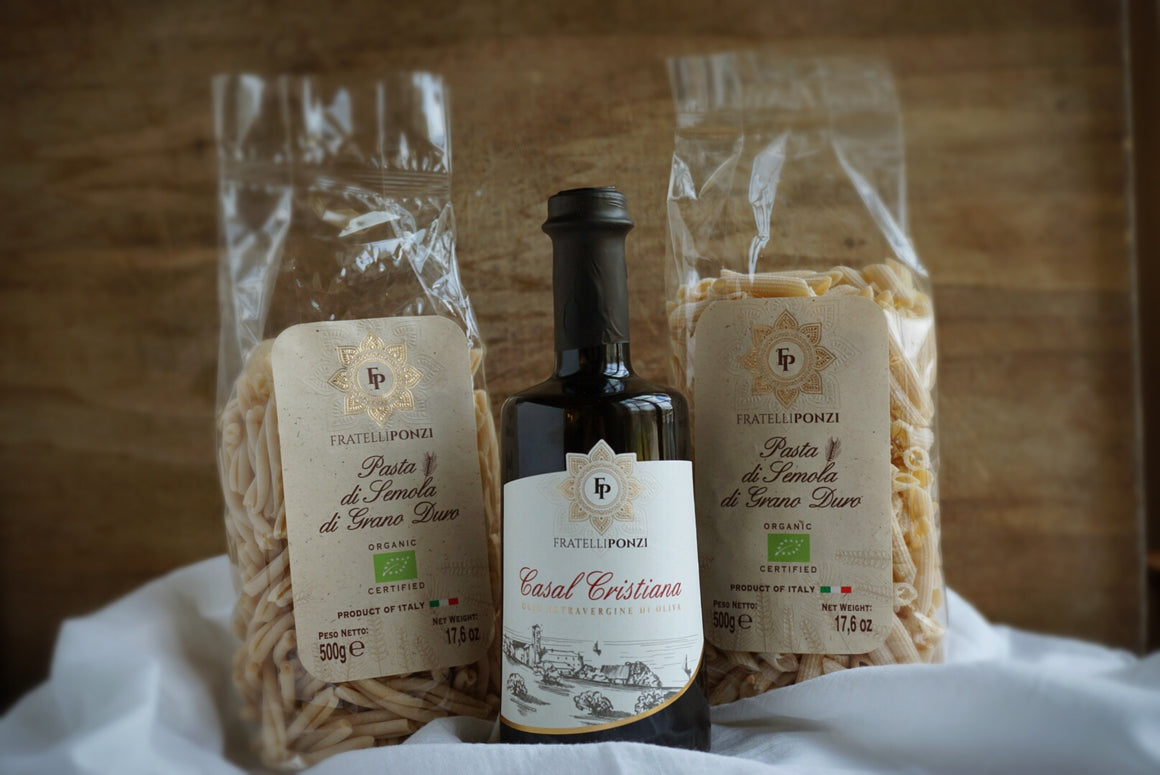 Fratelli Ponzi Extra Virgin Olive Oil & Pasta Pack