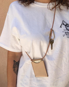 SSS Leather ID Wallet Necklace/Crossbody