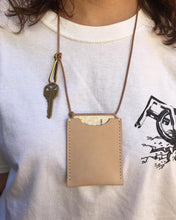 Load image into Gallery viewer, SSS Leather ID Wallet Necklace/Crossbody