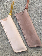 Load image into Gallery viewer, Swissco PRO Handmade Pocket Comb + Leather Sheath