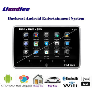10.1 inch Car Android Player Andriod Multimedia Back Seat Entertainment System / Portable Headrest HD Monitor Screen