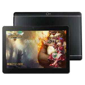 2018 New 10 inch Octa Core 3G Tablet 4GB RAM 32GB ROM 1920*1200 Dual Cameras Android 8.0 Tablet 10.1 inch  Free Shipping
