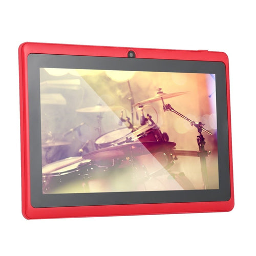 7 Inch Quad-core Tablet Computer Q88h All-in A33 Android 4.4 wifi Internet Bluetooth 512MB 4GB Convenient game tablet
