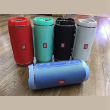 Load image into Gallery viewer, Fashion Outdoor Portable Wireless Bluetooth Speaker Support FM TF Card U Disk Playing