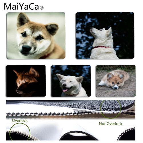 MaiYaCa New Designs Japanese Famous Dog Akita Beautiful Anime Mouse Mat Size for 180*220*2mm and 250*290*2mm Mousepad
