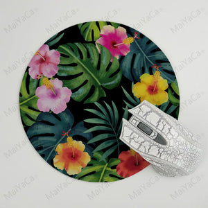 MaiYaCa  Tropical Bird and Leaves Ins High Speed New Mousepad Hot Selling Fashion Design mouse mat