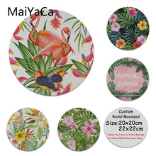 Load image into Gallery viewer, MaiYaCa  Tropical Bird and Leaves Ins High Speed New Mousepad Hot Selling Fashion Design mouse mat