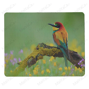 MaiYaCa Your Own Mats Birds on the Branch Mouse Pad for Laptop Laptop Gaming Mice Mousepad