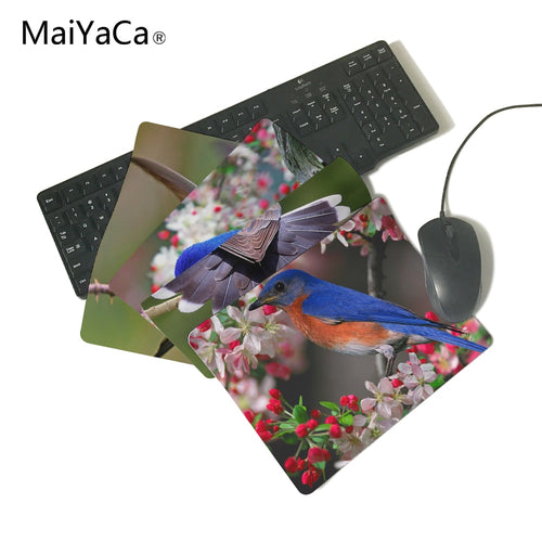 MaiYaCa beautiful bird wallpaper Gaming Gamer Mice Mause Mouse Pad New Rubber Non-Skid Rubber Pad