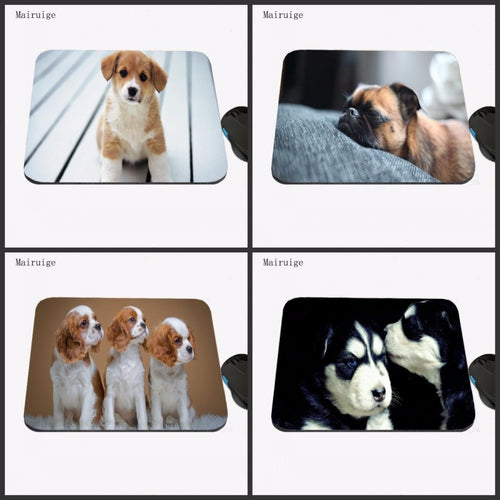 Mairuige mouse pad rubber 220X180MM anti-skid table mat animal Dog CAT series  And high quality DIY Lovely pet computer office