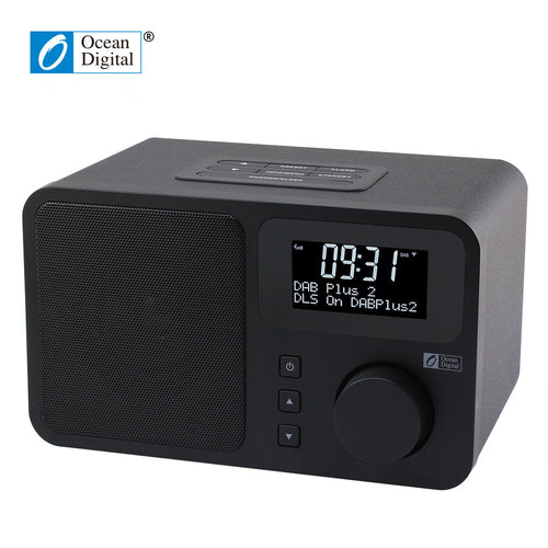 O-014 Ocean Digital DB-230B DAB Digital Radio DAB+FM Digital Bluetooth Dual alarm clock dual band Radio