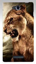 Load image into Gallery viewer, Print Lion Wolf Horse Polar Bear Parrot Elephant Owl Cat Mouse Hood Phone Cases Covers For SONY Xperia C S39H C2305 Case Shell