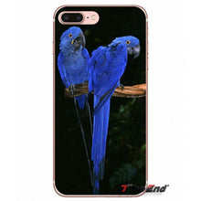 Load image into Gallery viewer, Soft Transparent Shell Covers Blue Ringneck Parrot For Xiaomi Redmi 4A 4X 3S Note 3 4 5 Pro 5A Mi3 Mi4 Mi5 Mi6 Mi A1 Max 5X 6X