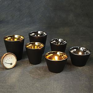 Black Candle Holders