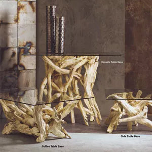 buy driftwood furniture lighting and decor