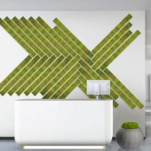 Gold Leaf Design Group Green Wall