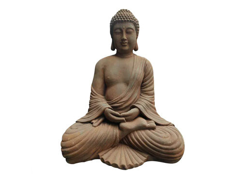 Moe's Home Collection Stone Finish Sitting Buddha