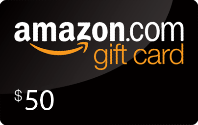2 Amazon gift cards of 25 $ each