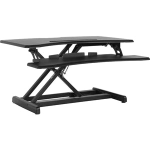 HERCULES Series 30.25'W Black Sit / Stand Height Adjustable Ergonomic Desk