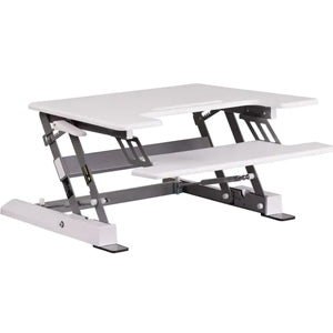 HERCULES Series 28.25''W Sit / Stand Height Adjustable Ergonomic Desk By Flash Furniture