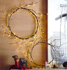 Roost Lithe Lit Wreaths